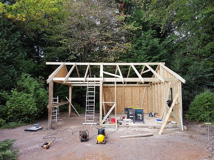Bespoke garden buildings zuke for Bespoke garden sheds